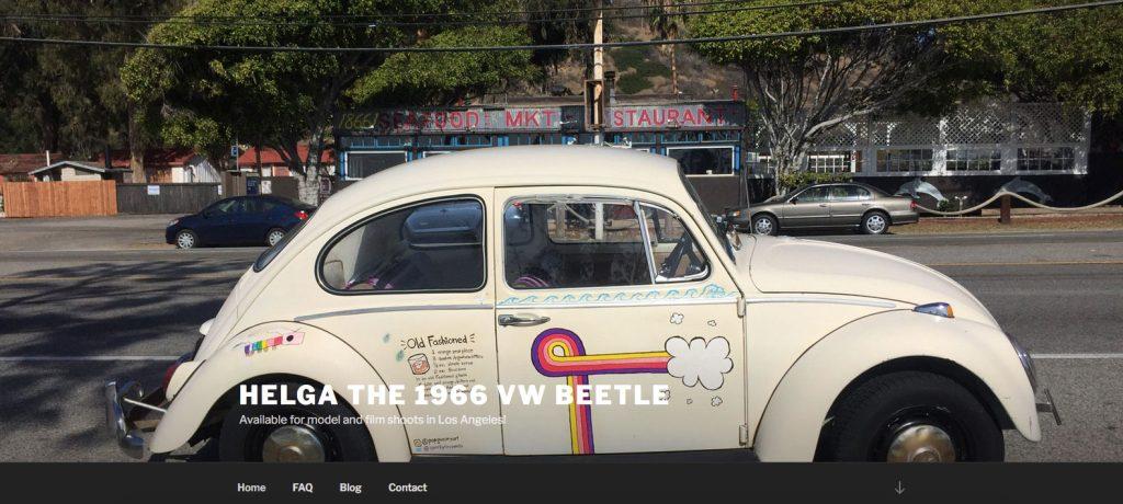 Helga home page image