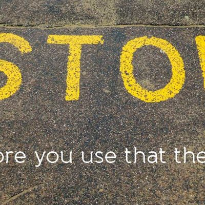 Stop! Before you use that WordPress theme…