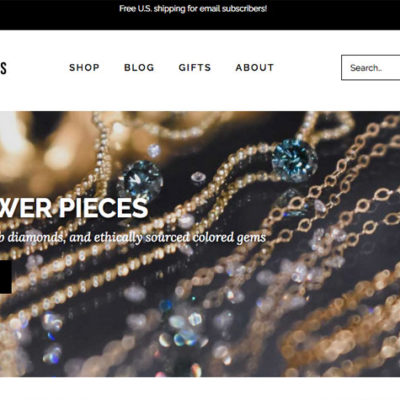 Case Study: Dazzling Jewelry Shop Site Redesign
